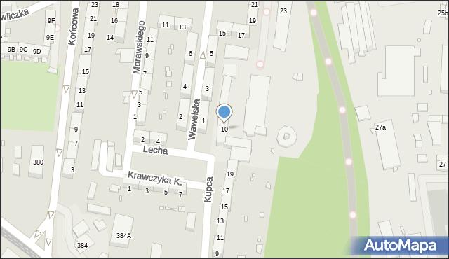 Zabrze, Lecha, 10, mapa Zabrza