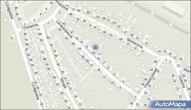 Zabrze, Lenartowicza Teofila Aleksandra, 23, mapa Zabrza