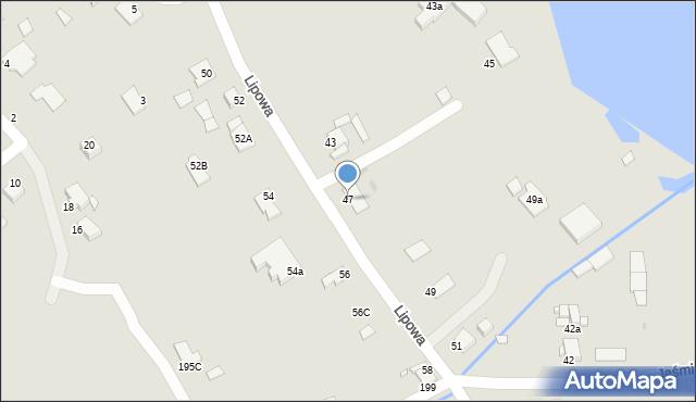 Grudziądz, Lipowa, 47, mapa Grudziądza