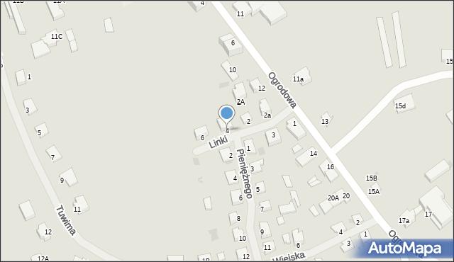 Kętrzyn, Linki Bogumiła, 4, mapa Kętrzyn