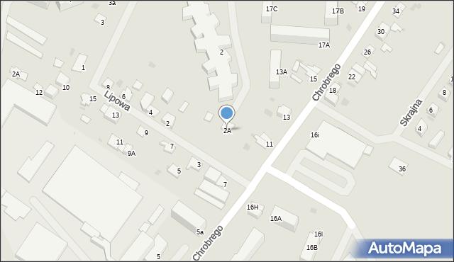 Kętrzyn, Lipowa, 2A, mapa Kętrzyn