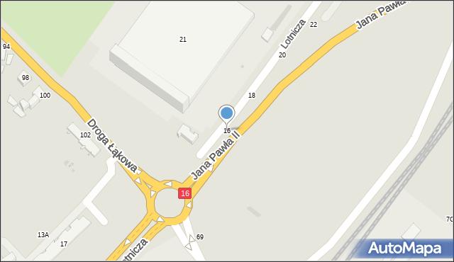 Grudziądz, Lotnicza, 16, mapa Grudziądza
