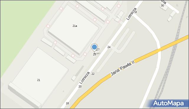 Grudziądz, Lotnicza, 25, mapa Grudziądza