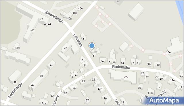 Kołobrzeg, Lotnicza, 7, mapa Kołobrzegu