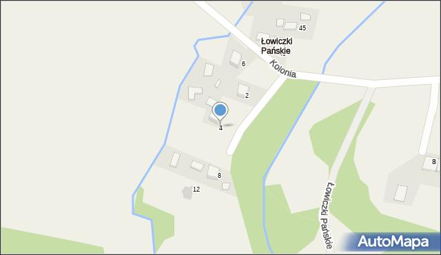 Przeciszów, Łowiczki Pańskie, 4, mapa Przeciszów