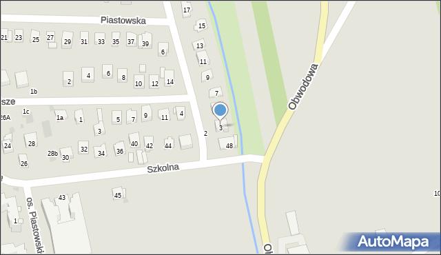 Dobczyce, Lubomirskich, 3, mapa Dobczyce