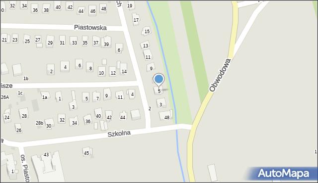 Dobczyce, Lubomirskich, 5, mapa Dobczyce