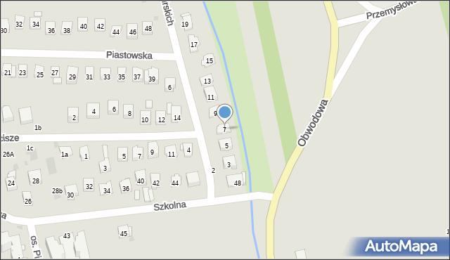 Dobczyce, Lubomirskich, 7, mapa Dobczyce