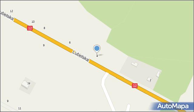 Janów, Lubelska, 4, mapa Janów
