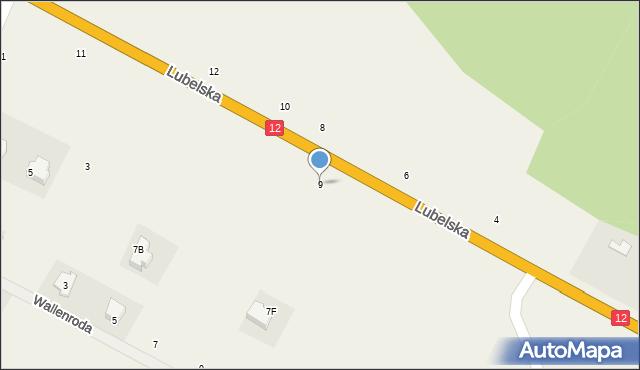 Janów, Lubelska, 9, mapa Janów