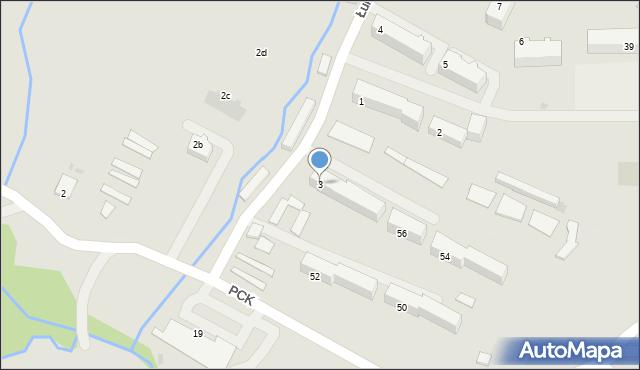 Ustrzyki Dolne, Łukasiewicza Ignacego, 3, mapa Ustrzyki Dolne
