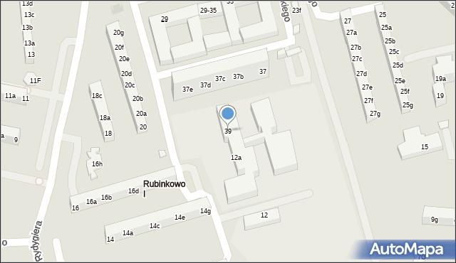Toruń, Łyskowskiego Ignacego, 39, mapa Torunia