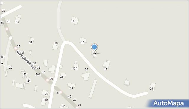 Chełm, Małachowskiego Stanisława, 17, mapa Chełma