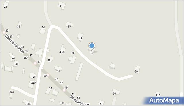 Chełm, Małachowskiego Stanisława, 19, mapa Chełma