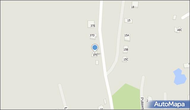 Chełm, Malowane, 37C, mapa Chełma