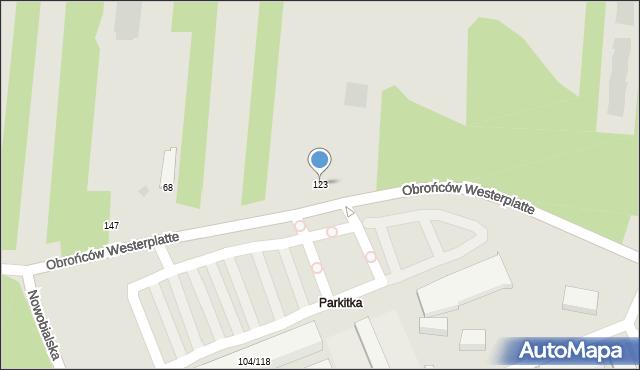 Częstochowa, Małopolska, 123, mapa Częstochowy