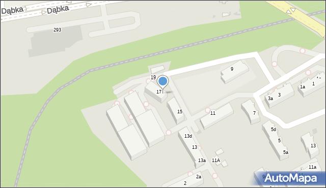 Gdynia, Maciejewicza Konstantego, 17a, mapa Gdyni