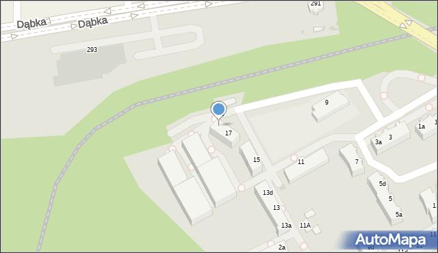 Gdynia, Maciejewicza Konstantego, 17b, mapa Gdyni