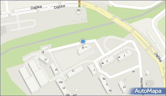 Gdynia, Maciejewicza Konstantego, 9, mapa Gdyni