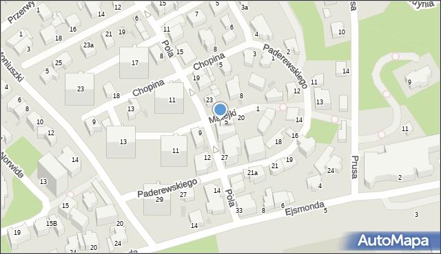 Gdynia, Matejki Jana, 7, mapa Gdyni