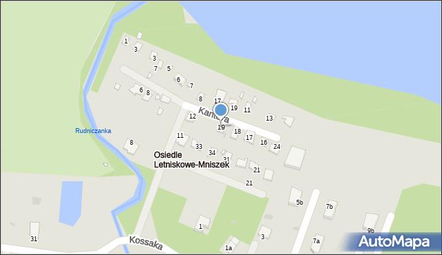 Grudziądz, Malczewskiego Jacka, 19, mapa Grudziądza