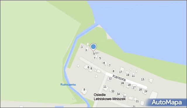 Grudziądz, Malczewskiego Jacka, 3, mapa Grudziądza