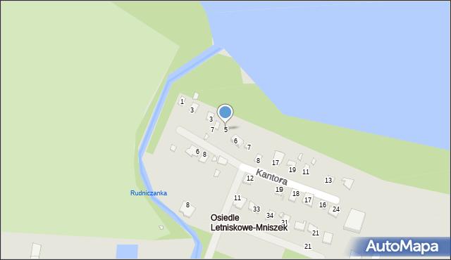 Grudziądz, Malczewskiego Jacka, 5, mapa Grudziądza