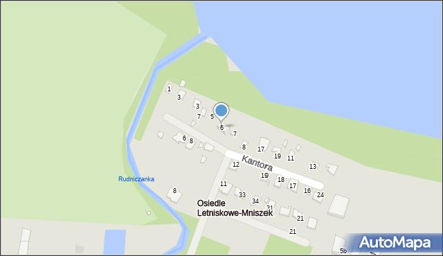 Grudziądz, Malczewskiego Jacka, 6, mapa Grudziądza