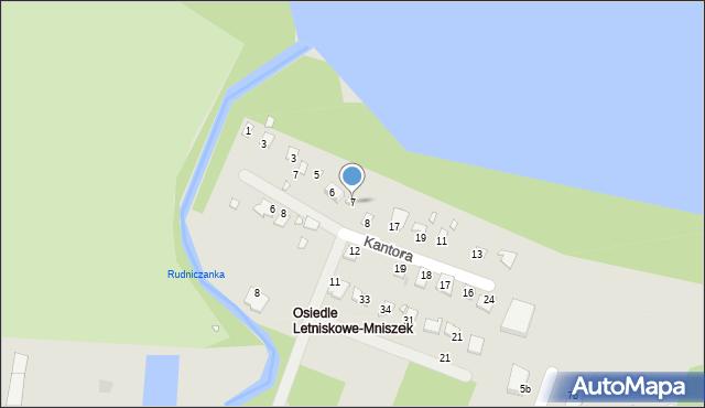 Grudziądz, Malczewskiego Jacka, 7, mapa Grudziądza