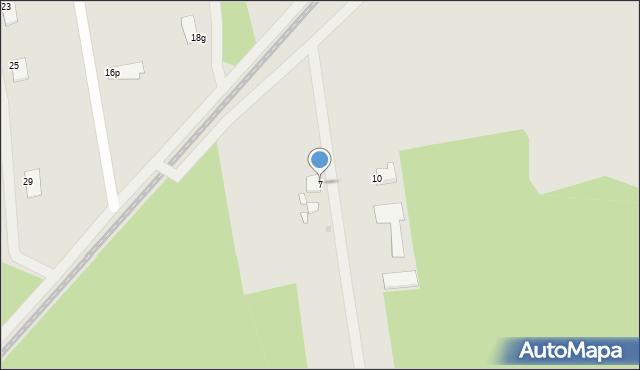Grudziądz, Malwiowa, 7, mapa Grudziądza