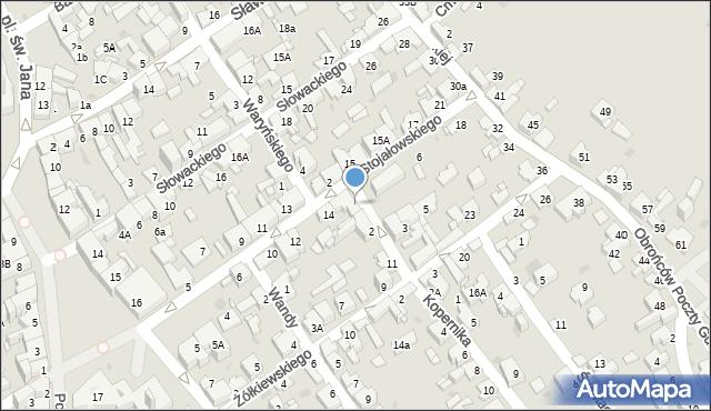 Jaworzno, Mały Rynek, 1, mapa Jaworzno