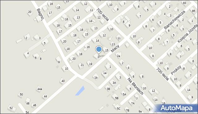 Jaworzno, Macy Józefa, 17, mapa Jaworzno