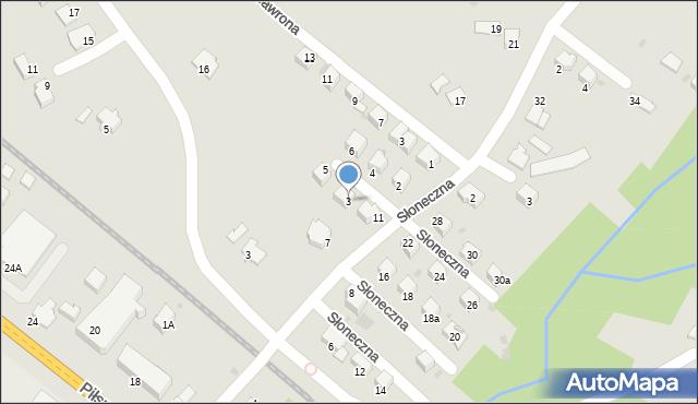 Limanowa, Mączeńskiego Zdzisława, 3, mapa Limanowa
