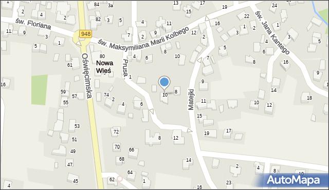 Nowa Wieś, Matejki Jana, 10, mapa Nowa Wieś