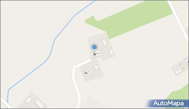 Nowa Wieś Ełcka, Małeckich Jana i Hieronima, 36, mapa Nowa Wieś Ełcka