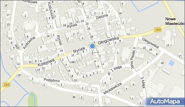 Nowe Miasteczko, Majowa, 2, mapa Nowe Miasteczko