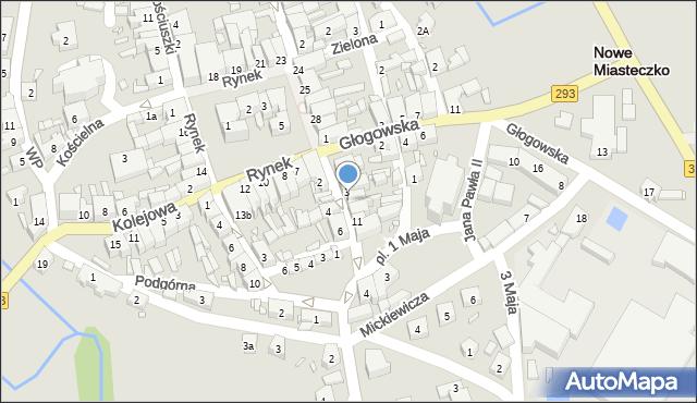 Nowe Miasteczko, Majowa, 5, mapa Nowe Miasteczko