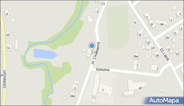 Nowe Miasteczko, Marcinkowskiego, 2, mapa Nowe Miasteczko