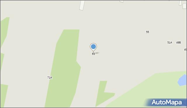 Radom, Marglowa, 63, mapa Radomia