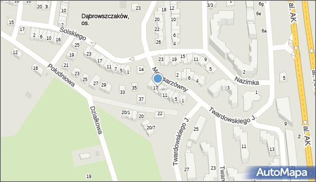 Rzeszów, Marusarzówny Heleny, 15, mapa Rzeszów