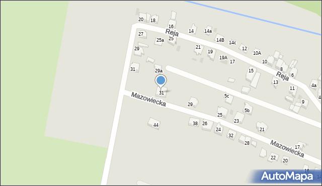 Tarnowskie Góry, Mazowiecka, 31, mapa Tarnowskie Góry