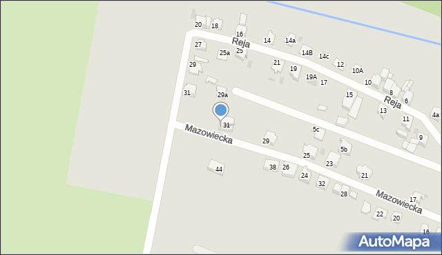 Tarnowskie Góry, Mazowiecka, 33, mapa Tarnowskie Góry