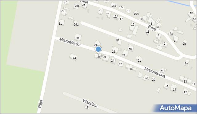 Tarnowskie Góry, Mazowiecka, 38, mapa Tarnowskie Góry