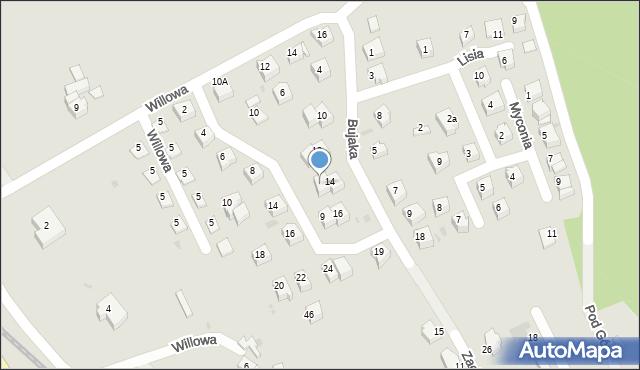 Limanowa, Metalowców, 7, mapa Limanowa