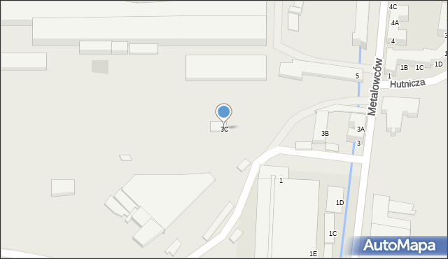 Świętochłowice, Metalowców, 3C, mapa Świętochłowice