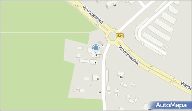 Grudziądz, Miłoleśna, 4, mapa Grudziądza