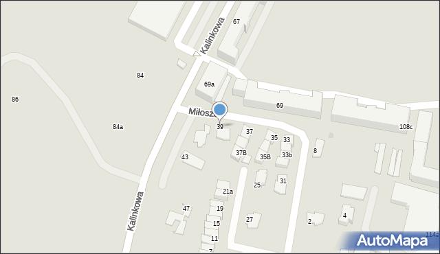 Grudziądz, Miłosza Czesława, 39, mapa Grudziądza