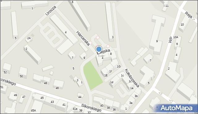 Kętrzyn, Miejska, 4, mapa Kętrzyn