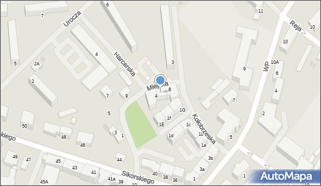 Kętrzyn, Miejska, 6, mapa Kętrzyn