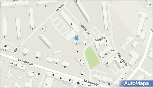 Kętrzyn, Miejska, 7, mapa Kętrzyn